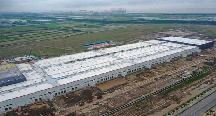 特斯拉上海超级工厂正式通电 全面投产进入冲刺阶段