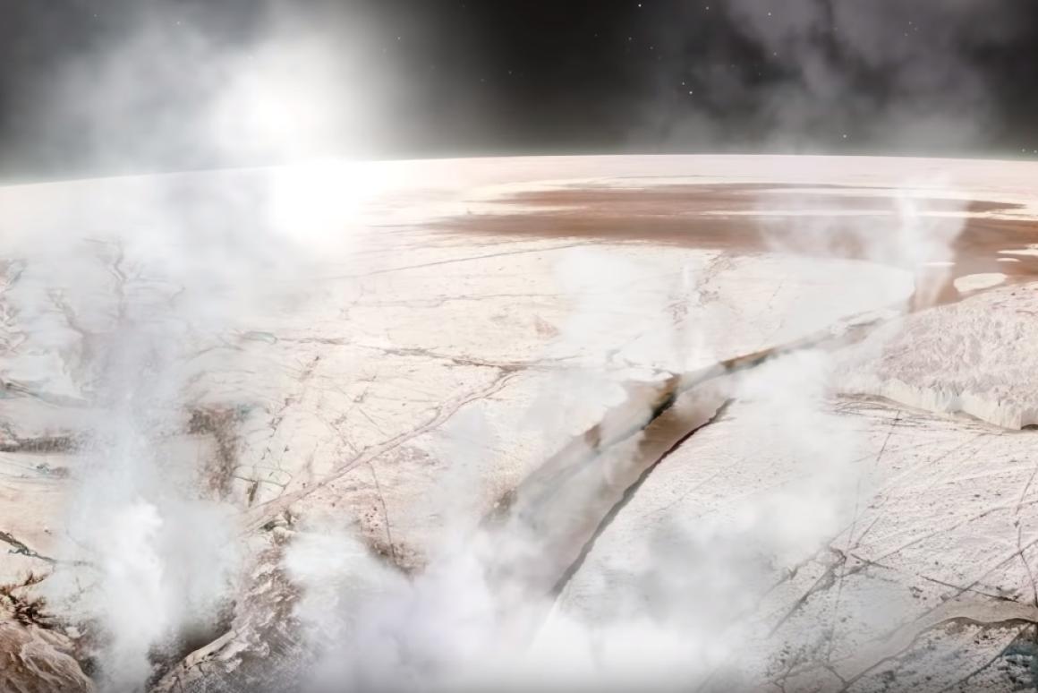 美国科学家首次探测到木卫二羽流喷出的水蒸气