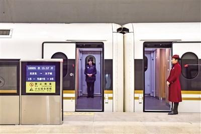 京张高铁今日开通运营,是中国首条智能化高速铁路