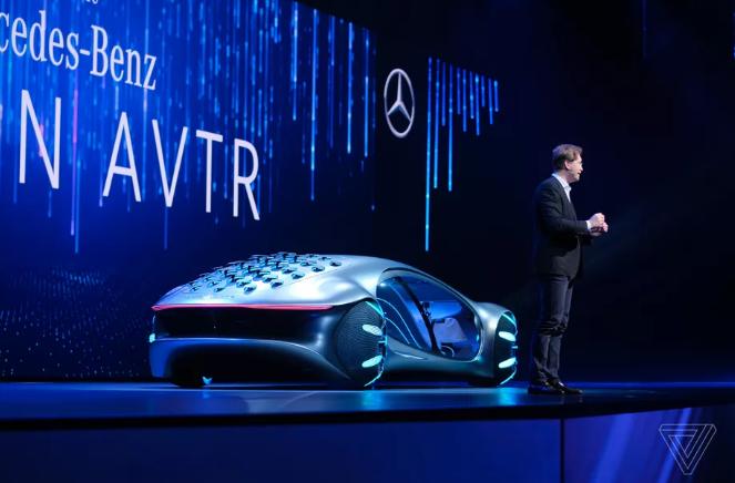"""借鉴""""阿凡达"""",奔驰发布概念车:允许人机交互融合"""
