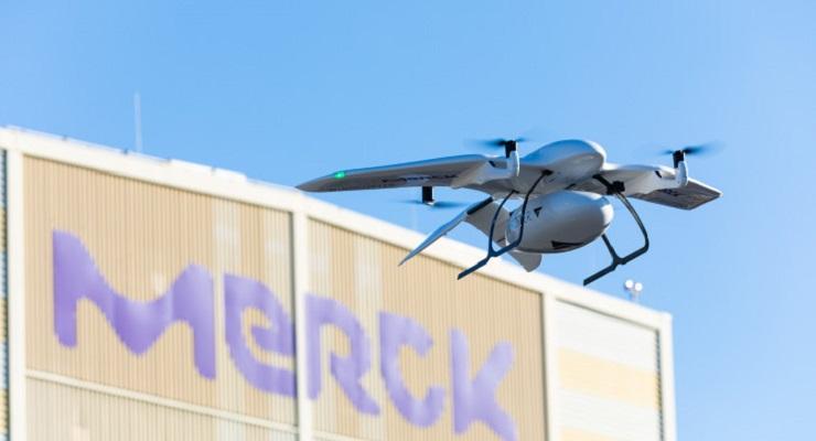 德国进行无人机送货试验 未来城市快递可能替代卡车