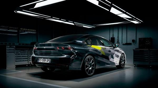 标致508 Sport Engineered官图发布:马力500匹 百公里4.3秒!