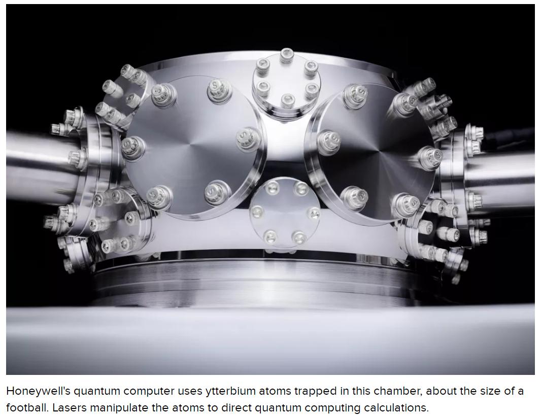 外媒:霍尼韦尔称将发布全球最强大的量子计算机