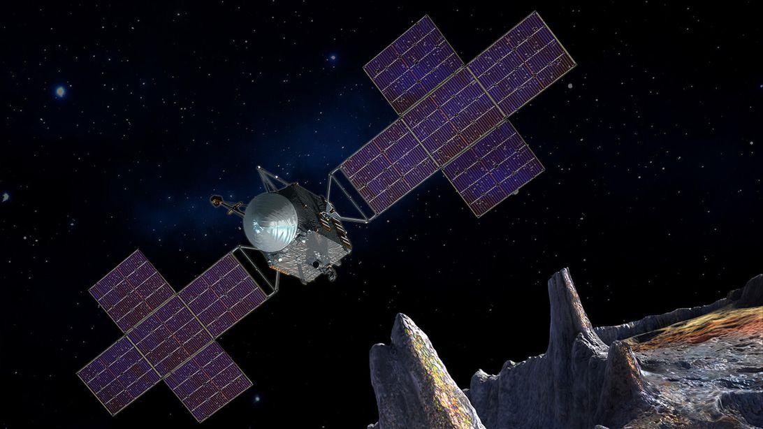 NASA探索小行星 SpaceX将用猎鹰重型火箭执行运载任务