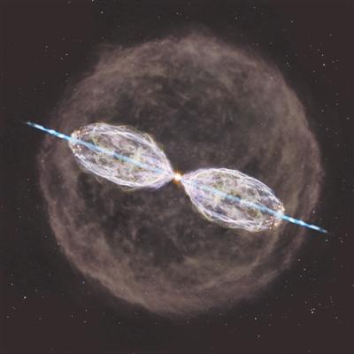 "ALMA发现一颗正在""变身""的恒星"