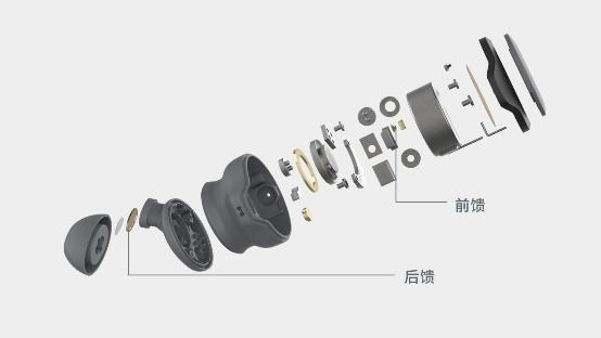国内始发 搭载高通QCC5124芯片的主动混合降噪(前馈+后馈)真无线耳机来了