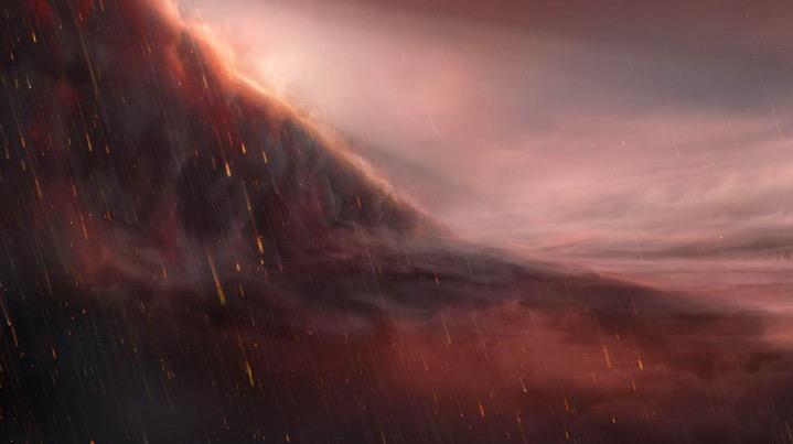 """天文学家发现下着""""铁雨""""的奇异行星"""