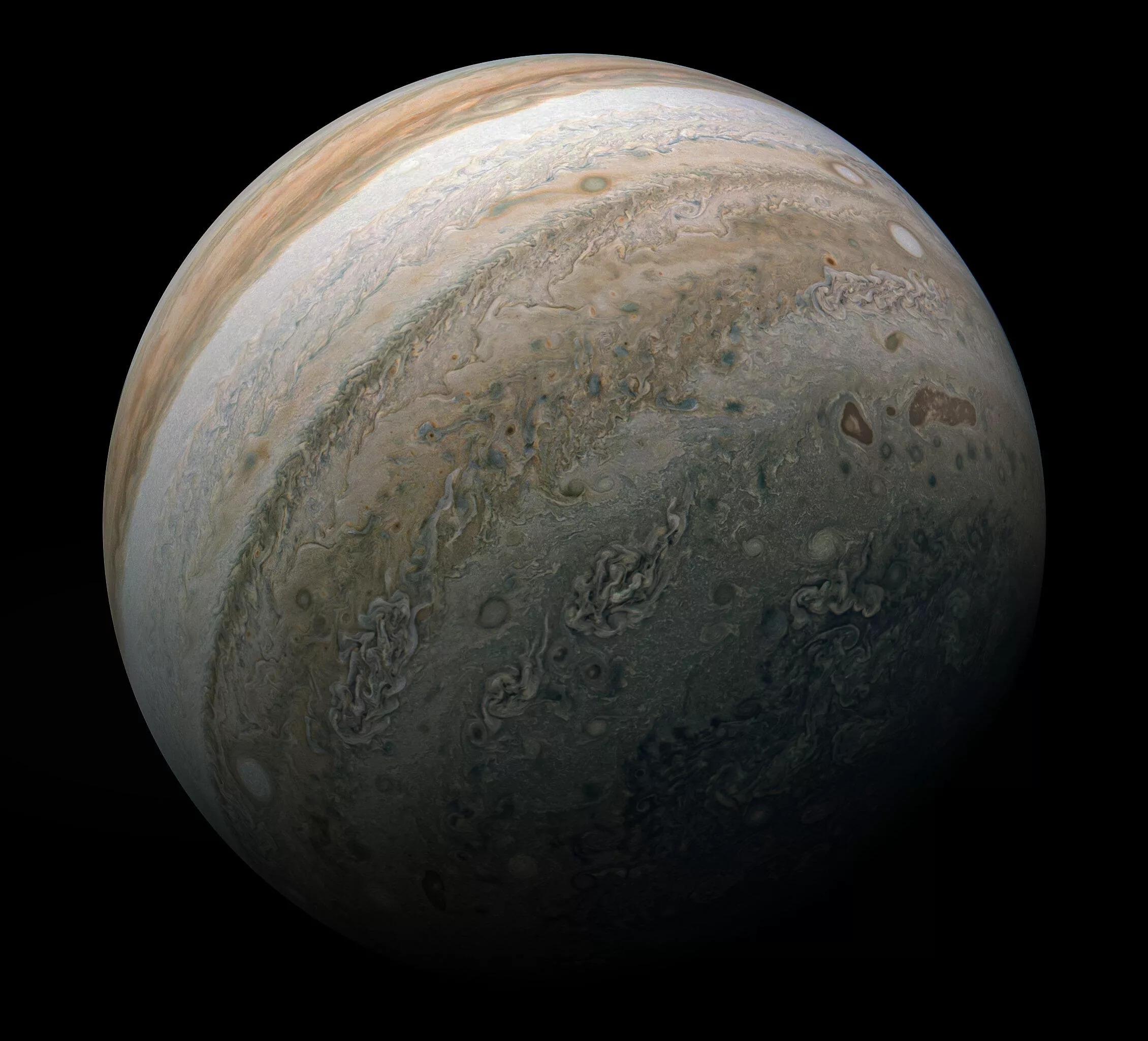 """NASA发布""""木星之美""""图像 希望给人类以慰藉"""
