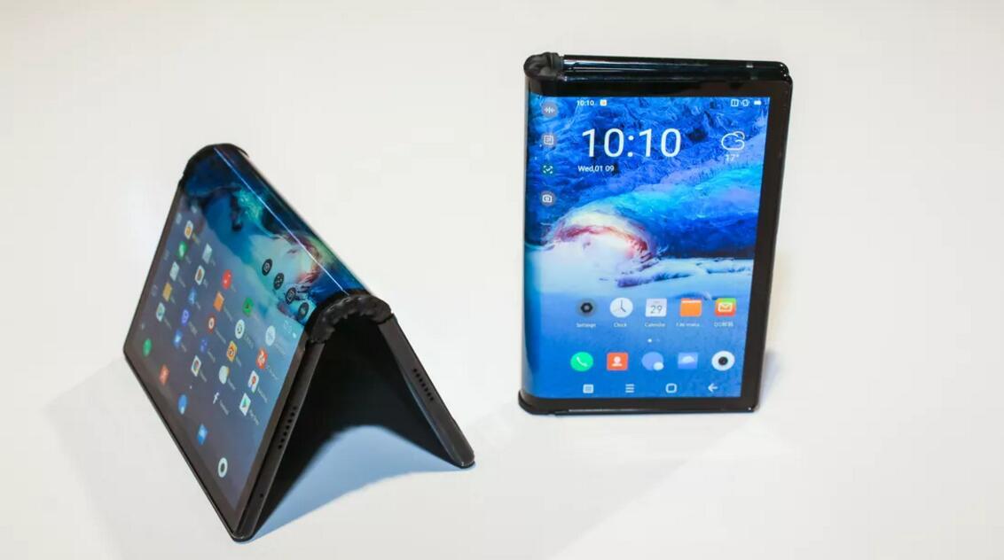 柔宇科技发布全新5G折叠屏手机FlexPai 2