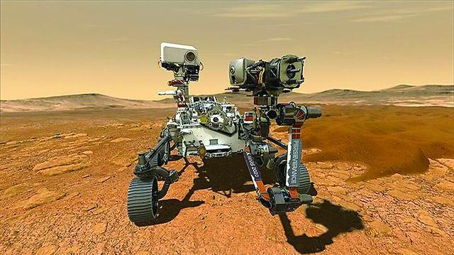 从火星捡回块小石头需要几步?
